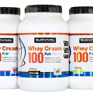Whey Cream 100 Fair Power čokoláda 1000g