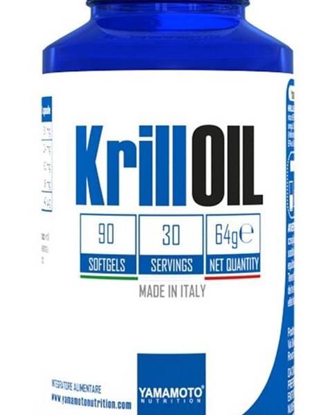 Krill Oil (správne fungovanie mozgu a zraku) - Yamamoto  90 softgels