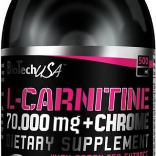 L-Carnitine 70000 mg+Chrome 5mg - Biotech USA 500 ml Pomaranč