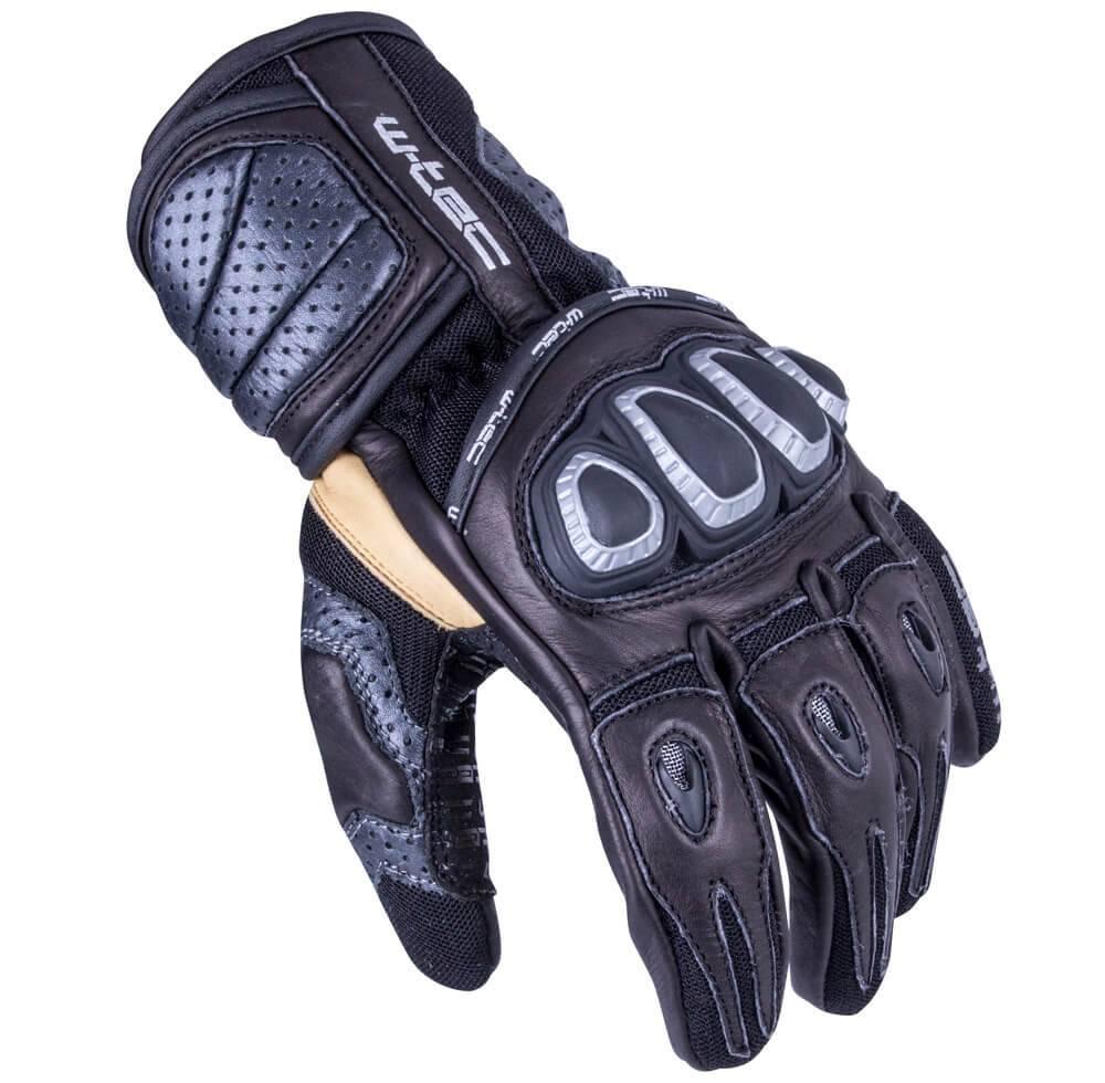 Pánske moto rukavice W-TEC ...