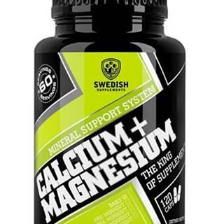 Calcium+Magnesium - Swedish Supplements 120 kaps.