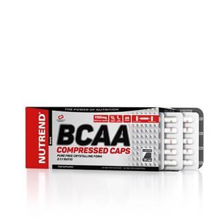 Aminokyseliny Nutrend BCAA Compressed Caps 120 kapsúl
