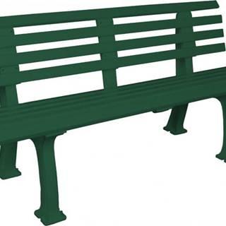 Freiburg 15G tenisová lavička barva: zelená;výška / šířka: 150 cm