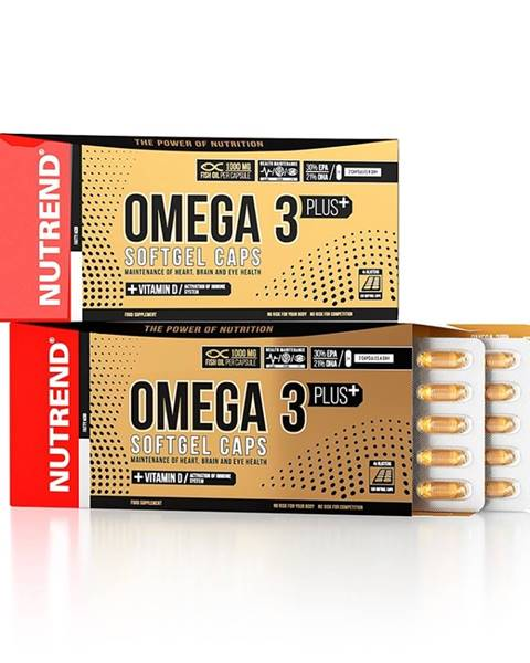 Rybí olej  Omega 3 PLUS Softgel Caps 120 kapsúl