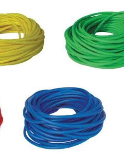BAND TUBING - Odporová posilovací guma - LATEX FREE - 1 m - Zelená - Snadná
