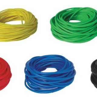 BAND TUBING - Odporová posilovací guma - LATEX FREE - 1 m - Zelená