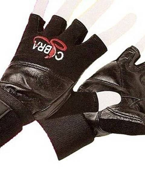 Rukavice Fitness EFFEA COBRA kůže - M - M