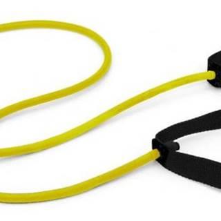 Posilovací expander/guma SEDCO s držadly - Obtížnost: Velmi snadná - Žlutá