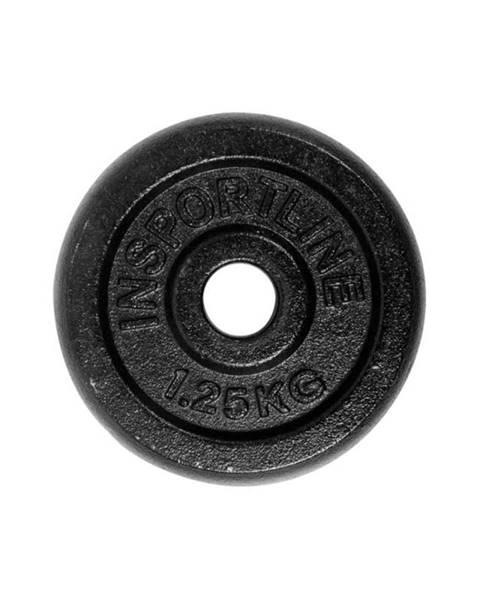 Závažie inSPORTline 1,25kg oceľové