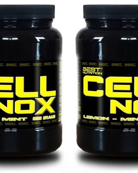 1+1 Zadarmo: CellNOX Muscle Pump od Best Nutrition 625 g + 625 g Lemon-Mint