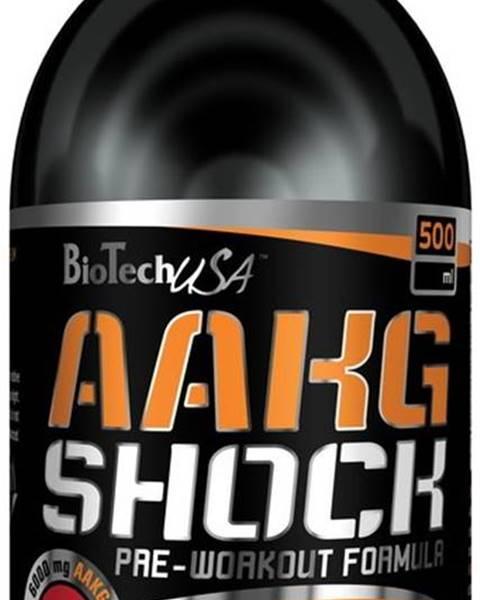 AAKG Shock Extreme - Biotech USA 1000 ml Pomaranč