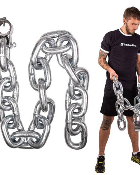 Vzpieračská reťaz inSPORTline Chainbos 30 kg