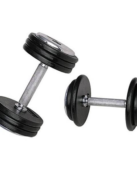 Jednoručná činka inSPORTline ProfiST 32,5 kg