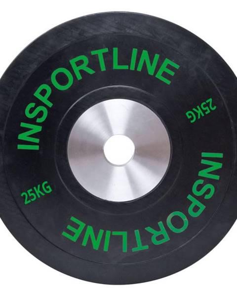 inSPORTline Gumový kotouč inSPORTline Bumper Plate 25 kg
