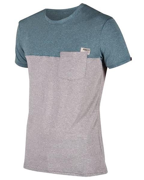 Pánske tričko Jobe Discover Fog Blue modro-šedá - L