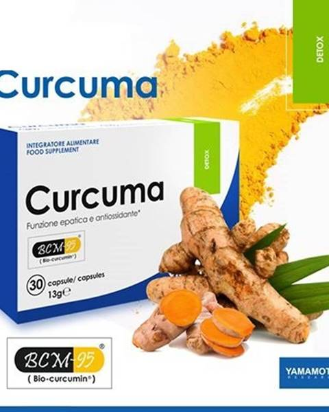 Curcuma (detoxikácia organizmu) - Yamamoto 30 kaps.