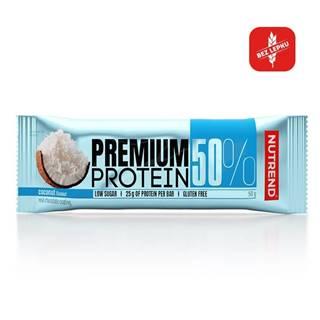 Proteínová tyčinka Nutrend Premium Protein 50% Bar 50g cookies cream