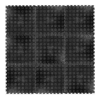 Zátažová podložka inSPORTline Avero 0,6 cm čierna