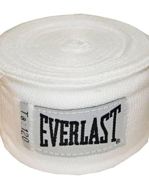 Boxerské bandáže Everlast Pro Style Hand Wraps 300 cm biela