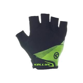 Cyklo rukavice KELLYS COMFORT lime zelená - S