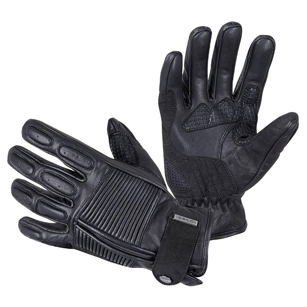 Kožené moto rukavice W-TEC ...