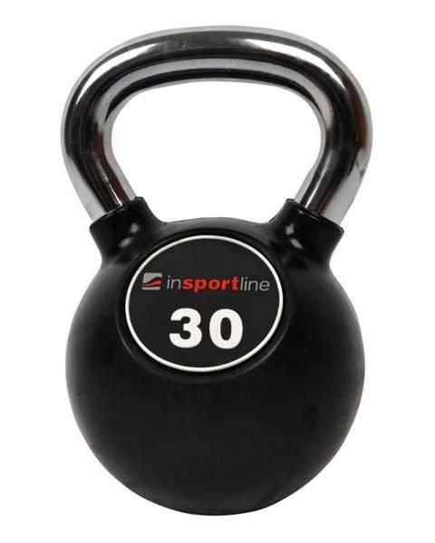Pogumovaná činka inSPORTline Ketlebel Profi 30 kg
