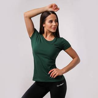 Dámske tričko Basic Green - GymBeam  XS