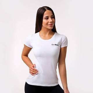 GymBeam Dámske tričko Basic White  XS