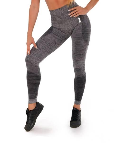 Dámske legíny Boco Wear Grey Melange Push Up šedá - XS/S