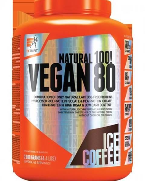 Vegan 80 od Extrifit 2000 g Caramel