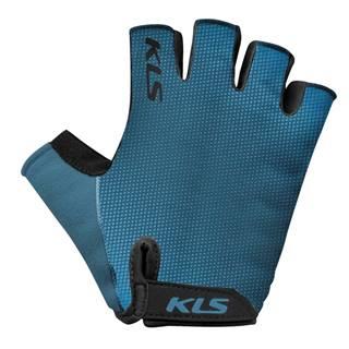 Cyklo rukavice  Factor blue - XS