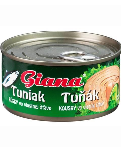 Giana Tuniak vo vlastnej stave 185 g prírodná chuť