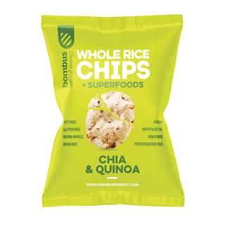 Rýžové čipsy Chia a Quinoa 60 g