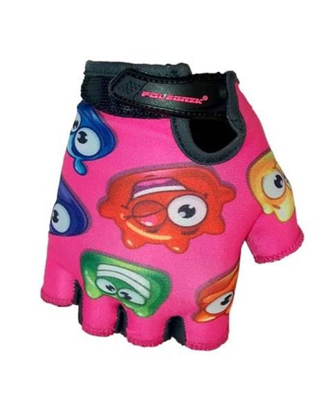 Detské cyklo rukavice POLEDNIK Baby Želáci ružová - 2