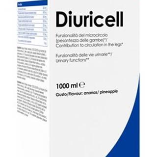 Diuricell (čistiace a odvodňovacie účinky) -  1000 ml. Lemon + Ginger