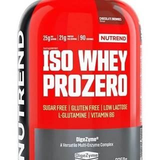 Iso Whey ProZero -  2250 g Chocolate Brownies