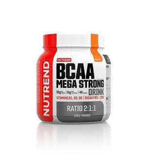 Aminokyseliny  BCAA Mega Strong Drink (2:1:1) 400g pomaranč