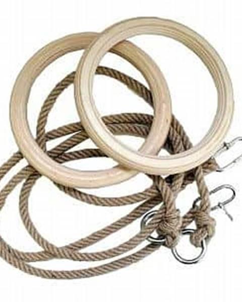 dřevěné gymnastické kruhy Průměr 18 cm