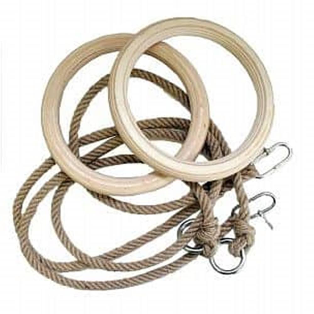 dřevěné gymnastické kruhy P...