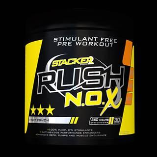 Stacker2 Predtréningový stimulant Rush N.O.X 360 g ovocný punč
