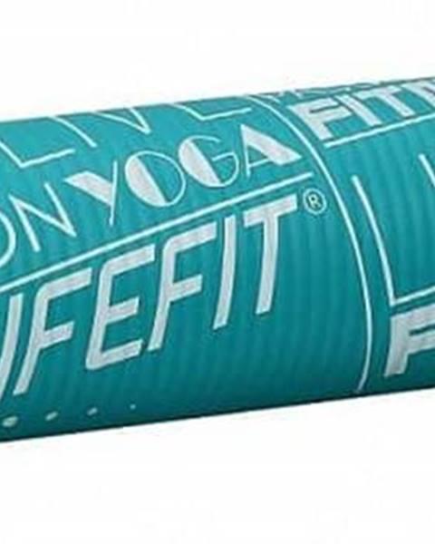 Podložka LIFEFIT YOGA MAT EXKLUZIV , 100x58x1cm, tyrkysová