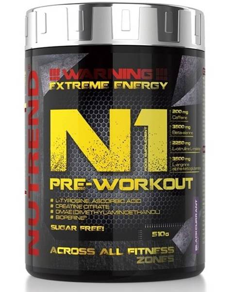 N1 Pre-Workout od  10 x 17 g Blackcurrant